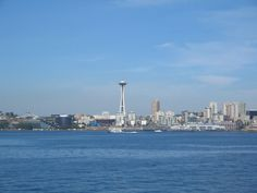 Seattle from Bremerton Ferry August 2005