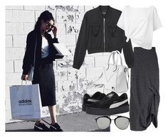 """""""instagram: florencia95"""" by florencia95 ❤ liked on Polyvore featuring GRIZAS, Monki, Red Herring, Puma and Christian Dior"""