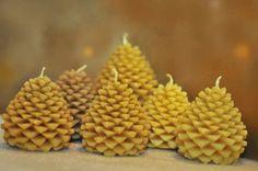 Lumanari handmade din ceara de albine