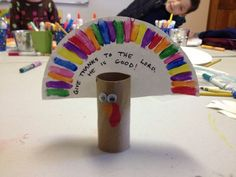 preschool Thanksgiving craft | Sunday school thanksgiving craft - Thankful Turkey | Preschool