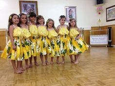 Hula pa'u skirts for children...bright colorful by SewMeHawaii, $25.00