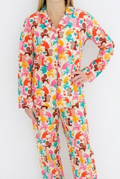 2pc Taylor Swift Squirrel Pajamas M