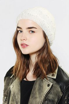 9cc21767736 Staring At Stars Snowflake Beanie - Urban Outfitters