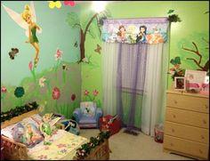 Little girls bedroom ideas | ... bedrooms - Maries Manor: fairy tinkerbell bedroom decorating ideas
