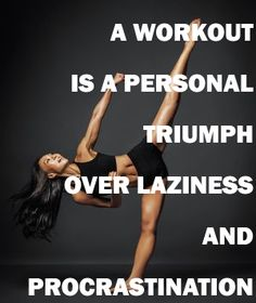 Do the workout that you've been planning!