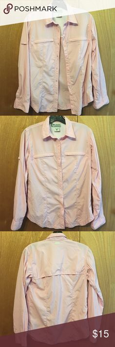 Columbia long sleeve button down Pink Columbia long sleeve Columbia Tops Button Down Shirts
