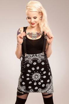 Vixxsin Paisley Skirt