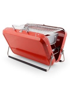 Briefcase Barbecue from Kikkerland at Art Effect
