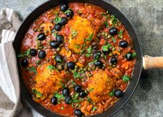 Fish Recipes, Chicken Recipes, Cacciatore, Healthy Cooking, Tandoori Chicken, Paella, Curry, Food And Drink, Meat