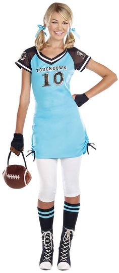 Football Touchdown Cutie Teen Costume from BuyCostumes.com