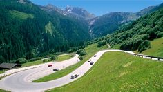 Discover the Gerlos Alpine Road, the gentle mountain pass road open all year round from Salzburg to Tyrol and vice versa. Tirol Austria, Heart Of Europe, Germany Travel, Trip Planning, Places Ive Been, The Good Place, Road Trip, Country Roads, Adventure