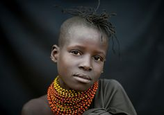 Africa   Turkana girl - Kenya   ©Eric Lafforgues
