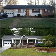 Wow, what a great face-lift!  This older home now looks brand new. Need real estate help visit http://amiebozeman.com.