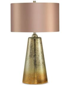 INK+IVY Lincoln Glass Table Lamp $168.99 A shimmering base and champagne-colored shade create glamour and elegance in the INK+IVY Lincoln glass table lamp. The JLA Home design is a standout piece that adds chic style to any room.