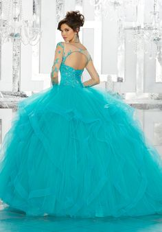 Pretty quinceanera mori lee vizcaya dresses, 15 dresses, and vestidos de quinceanera. We have turquoise quinceanera dresses, pink 15 dresses, and custom Quinceanera Dresses! Long Sleeve Quinceanera Dresses, Turquoise Quinceanera Dresses, Wedding Dresses, Quinceanera Ideas, Bridal Gowns, Tulle Balls, Tulle Ball Gown, Ball Gowns, Satin Tulle