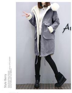 Новая осень и зима 2016 пальто шерсти куртки свободные большие ярдов женщин овечки в длинные участки толще Корейский хлопок проложенный - Taobao глобальной станции