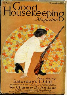 Saturday child; november issue    Phillips, Coles (cover illus).    Good Housekeeping. 1913 - 11 (November).