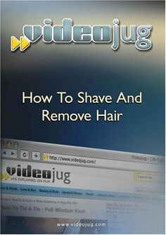 How To Shave And Remove Hair - If your trying to get your skin to have that smooth, sexy, beach ready look- this video can help you accomplish that! Lean how to shave, wax and use other methods of hair removal techniques. Get in the know on the lates