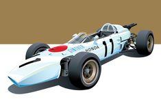 Classic Motorsport Art of Arthur Schening