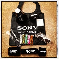 Companies Know How To Create A Great Swag Bag Look At This Promotional Giveaway By Sony