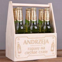 Personalizowane nosidło na piwo ZAPASY
