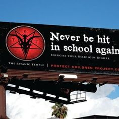 """Páči sa mi to: 1,758, komentáre: 75 – The Satanic Temple (@thesatanictemple) na Instagrame: """"""""More than 28,500 children in Texas received corporal punishment at school in the 2011-12 academic…"""""""