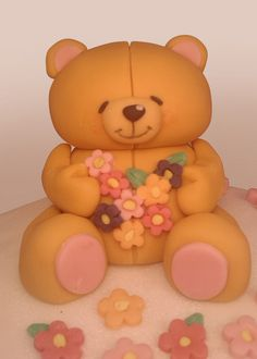 Forever Friend Fondant Figure by Cakes