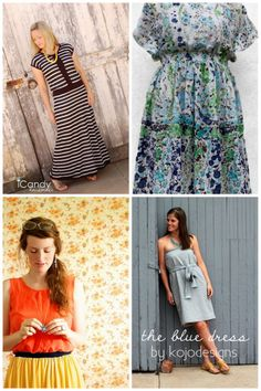 women's dresses sewing round up