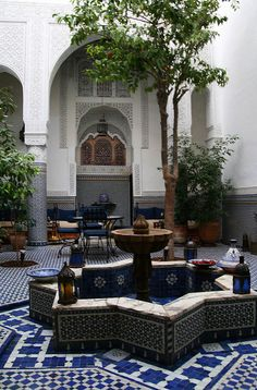 Fez, Morocco | riad I stayed at, in Fez. I think I got lost … | Flickr