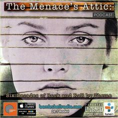 """Tonight """"The Menace's Attic"""" Six Decades of Rock and Roll by Theme"""" radio thing starts out with a tribute to Valerie Carter and moves on to an XTC-inspired show with acronym-ic and short-worded titles from: ABC Jackson 5 Frankie Lymon and the Teenagers B S & T Wings Stevie Wonder Elvis P. The Sugarhill Gang Sex Pistols The Box Tops R.B. Greaves The REcords and Michael Penn! Listen to the insanity here TONIGHT 5:00PM-6:00PM EST bombshellradio.com #nowplaying #rock #radio #synthpop #pop…"""