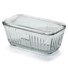 Anchor Glass Containers—this was what we used to store leftovers in the refrigerator