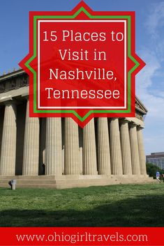 Nashville, Tennessee has so much to offer! It's full of live country music, history, and neon signs. We love the city so much that we've been here 12 times in the last two years! Click to find out all of the best things to see and do in Nashville. You'll definitely want to save this pin to your travel board.