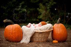 Baby Hat - Newborn Pumpkin Hat - Hand Crocheted - Baby Photo Prop - Boy or Girl. $24.99, via Etsy.