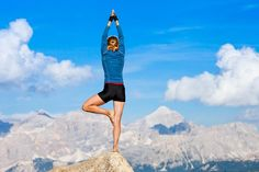 Mountain Yoga is definitely on my to do list! It just looks so peaceful. #MyFitHoliday #FindYourOwnFit