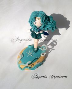 Sailor Neptune statue by ~AngeniaC on deviantART