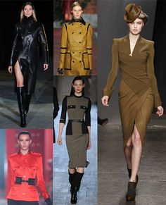 Military. New York Fashion Week autumn/winter 2012 trend round-up