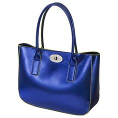 Mossimo® Painted Edge Tote - Blue
