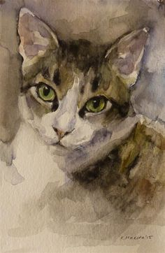 """adopt73"" original fine art by Katya Minkina"