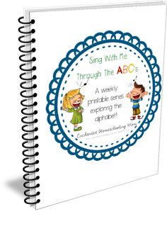 Welcome to the home of the FREE Sing With Me Through The ABC's weekly alphabet learning series on Enchanted Homeschooling Mom !