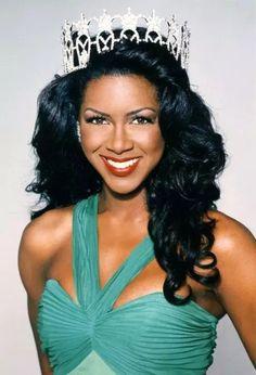 2nd Black Miss USA 1993 (Michigan), Kenya Moore