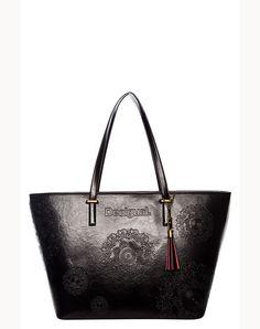 DESIGUAL Bag SAN FRANCISCO NEOGRAB negro - 84,00€ : Fashion Monicapecado