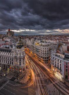 vacilandoelmundo:  Madrid, Spain -- Repinned by Gold Suites Vacation Rentals http://goldsuites.com #travel