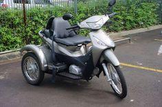 Honda Biz Triciclo
