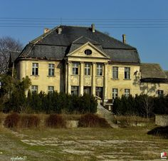 Palace, Grudynia Mala, Opolskie province, Poland. Huge Houses, Castle House, The Beautiful Country, Country Estate, Eastern Europe, Medieval, Places To Visit, Exterior, Architecture