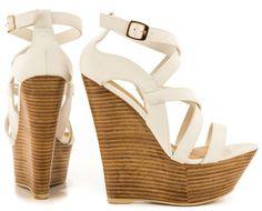 Netanya - White JustFab - Shoes Post