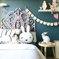 Kids bedroom by www.fourcheekymonkeys.com #kids#interior#miffy