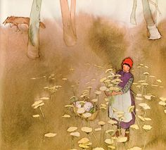 Little Red Cap - illustrated by Lisbeth Zwerger