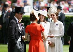 Kate Middleton Photos - The Duke (L) and Duchess (R) of Cambridge attend day 2 of Royal Ascot at Ascot Racecourse on June 15, 2016 in Ascot, England. - Royal Ascot 2016 - Day 2