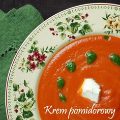 Krem pomidorowy z pesto i mascarpone