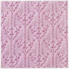 Lace Knitting Stitch #36